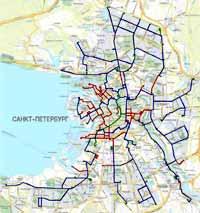 Схема городского транспорта санкт петербурга фото 874